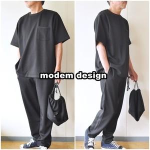 modemdesign モデムデザイン 3点セットアップ 2101764 カットソー、イージーパンツ、巾着袋 セットアップ・