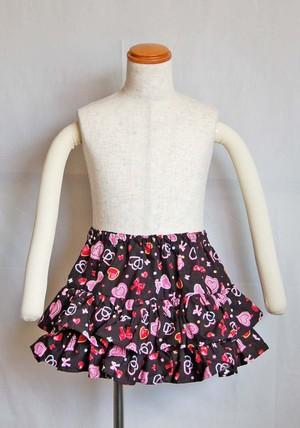 プリントリボンスカート