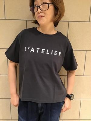 "siro de labonte★定番ロゴTシャツ ""L'ATELIER"""