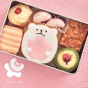 桜のクッキー缶(小)