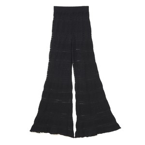 Lace Bell Bottoms - BLACK