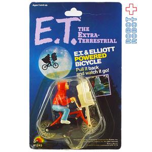 E.T.とエリオットの自転車フィギュア