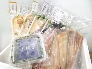地魚・ギバサ三昧セット