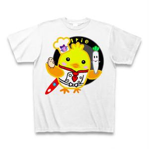 Irieお仕事運アップ鶏肉大根大豆サンキューTシャツ
