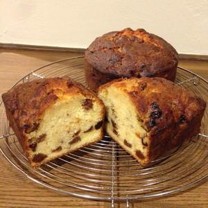 ドライフルーツのパウンドケーキ 1台(パウンド型or丸型)