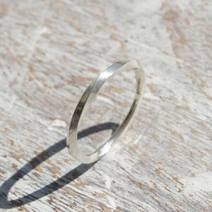 シルバーツイストリング 1.5mm幅 鏡面 3号~27号|WKS TWIST RING 1.5 sv mirror|SILVER950 銀 指輪 FA-178