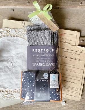 【父の日ギフト】靴下&スマートタオル セット