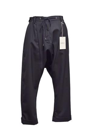 MIDDLA / TROP SARROUEL PANTS / Navy