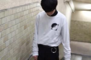 Fall Intoコラボ 心中longsleeveTシャツ