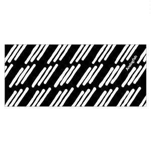 "Analogfish ""3本線"" ThickFaceTowel(Black)"