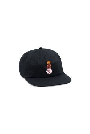 Quartersnacks SNACKMAN CAP BLACK