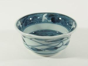 波地紋草花紋珍味小鉢