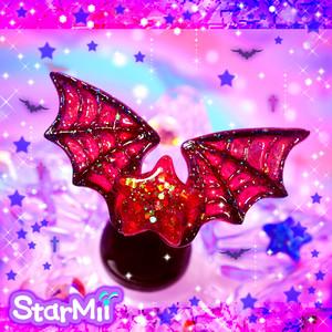 悪魔の羽リング♪(蜘蛛の巣)