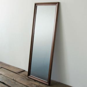 FRESNO MIRROR ブラウン/ライトブラウン【ACME furniture】【取り寄せ商品】