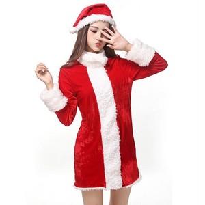 予約 コスプレ服 サンタクロース クリスマスパーティー Xmaコートワンピース ハイネック ショートパンツ 帽子 防寒 大人 コスプレ衣装 コスチューム ハロウィン 秋 冬 レディース 女性用 かわいい ふわふわ サンタコス サンタコスチューム クリスマス衣装 ch1013