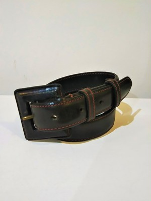 WHITEHOUSE COX  Leather belt /Made In England [C-222]