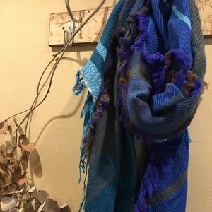 tamakiniime roots shawl wool big 03