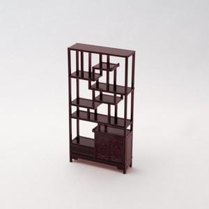 中国風ミニチュア家具/博古架(樹脂製)