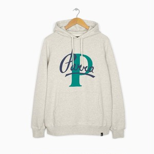 by Parra - hooded sweater painterly script (Oatmeal)