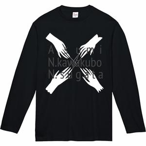 【ネット限定】MemberName入り長袖Tシャツ all one