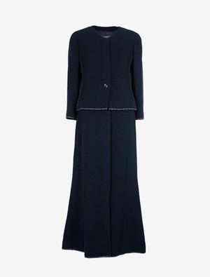 CHANEL シャネル ツイード  セットアップ スーツ ジャケット ロングスカート