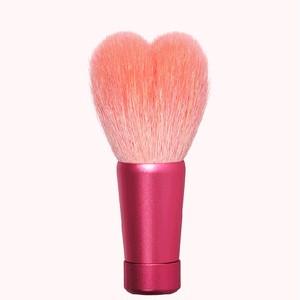 ハート型洗顔ブラシ 中 ピンク/ピンク軸