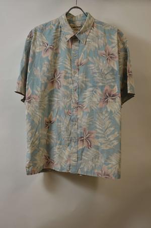 【Lサイズ寸】 COOKE STREET ALOHA SHIRTS アロハシャツ BLUE 400602190784