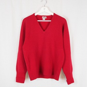 V Neck  Knit made in Scotland