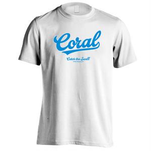 CORAL Tシャツ2018:ホワイト