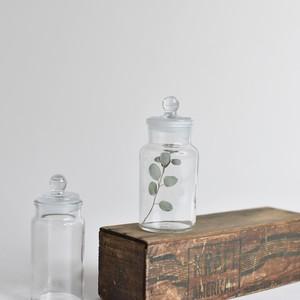 Glass Canister / ガラス キャニスター〈花瓶 / ボトル / ディスプレイ 〉