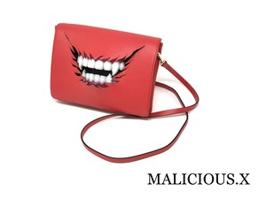 vampire shoulder bag / red
