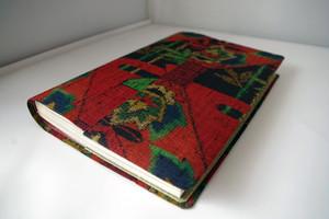 単行本 B6サイズ(絹・越後紬)セパレート式ブックカバー ht059b