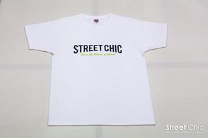 Crew - Tシャツ Block [WHITE]
