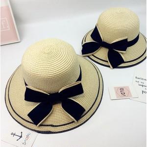5601帽子 レディース 子供 麦わら帽子HAT 紫外線 対策 UVカット帽子
