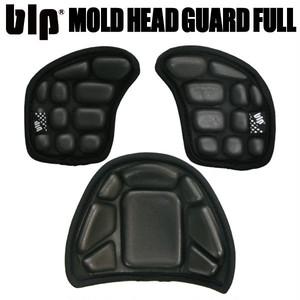 blp ヘッドガードフルセット BLK ニットキャップがヘルメットになる!