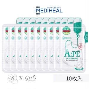 【MEDIHEAL】メディヒール  A:PE プロアチンマスク<SOOTHING>10枚入
