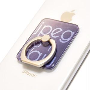 jpeg or raw スマートフォン用リング