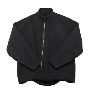 677BLM2-BLACK / フィックスドハイネックジャケット