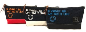-MARK- SMILE PT MINI POUCH
