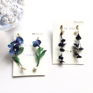BLUE HANNA ピアス/イヤリング