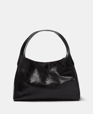 CRACKED LEATHER SHOPPER BAG [266212118102]
