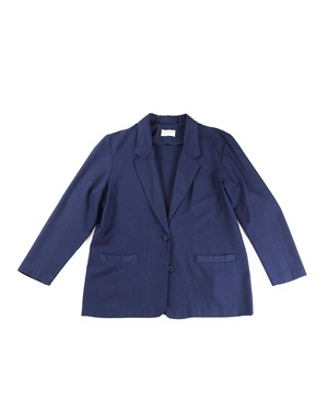 Unconstruction rayon jacket(Navy)