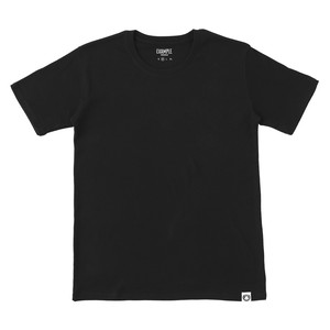 EXAMPLE UNDERWEAR 2PACK SHORT SLEEVE / BLACK & BALCK
