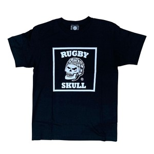 RUGBY SKULL Big Logo T-Shirt Black