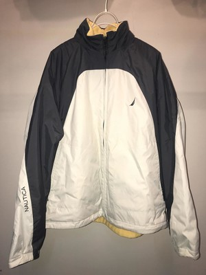 OLD NAUTICA REVERSIBLE FLEECE  JACKET UT2817