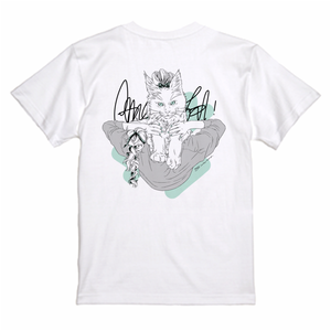 【保護猫寄付金対象商品】Tシャツ《E》