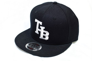 Treble Hook Booth / THB logo snap back cap [black]