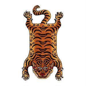 チベタンタイガーラグ 顔パターン【2】L 【再入荷】