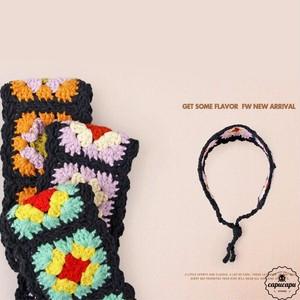 «即納» knit head dress ニットヘッドドレス