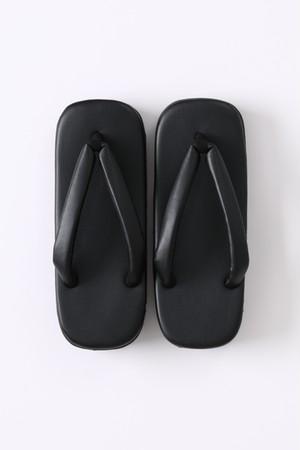 下駄 / 八つ折 / Black(横焼加工)